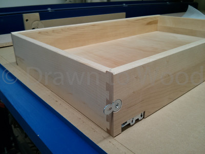 Maple Dovetailed Drawer
