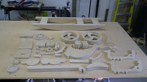 Parts Assembled
