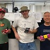 Mixed race, Lap Differential podium, L-R, Phil Nyland 2nd, Jim Lane 1st, Keith Tanaka 3rd