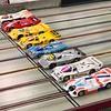 Six Porsche 962's, a Sauber Mercedes C9 and a Porsche 917.