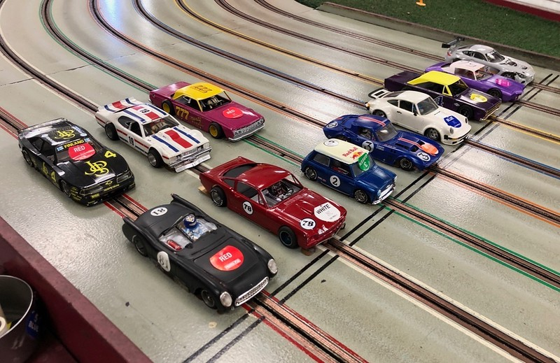 """June's D3 Hardbody races at Buena Park Raceway. A lite turnout of racers today. 11 entries for the """"Mixed"""" race."""