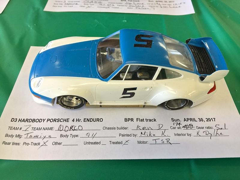 NORSO's entry. Ken Dylke built this car.