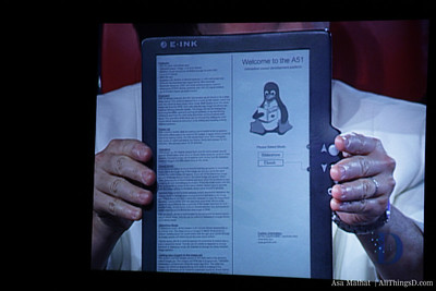 Back to the future: e-ink demo.