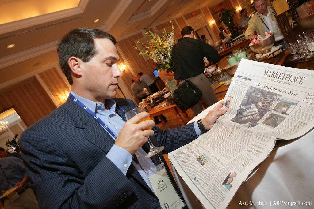 Breakfast with The Wall Street Journal.