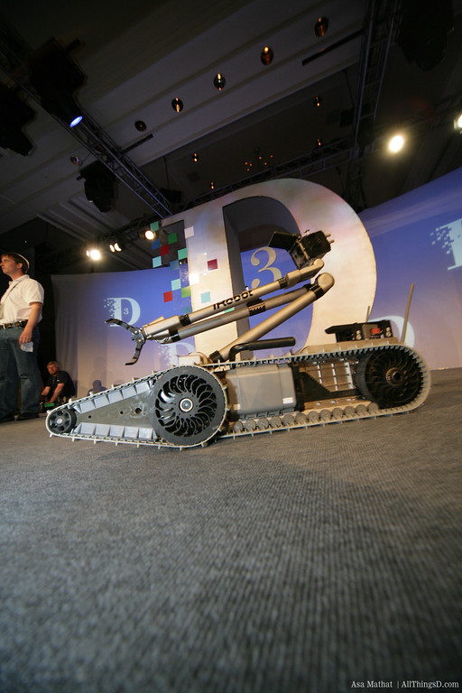 iRobot demo at D3.