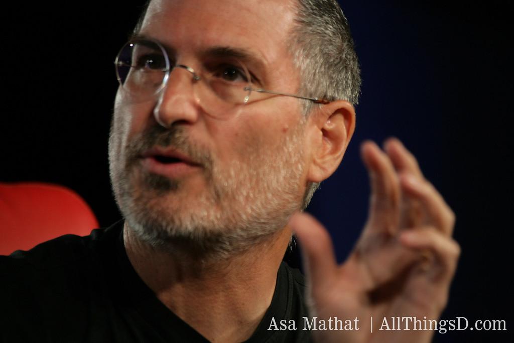 Steve Jobs at D3 in 2005.