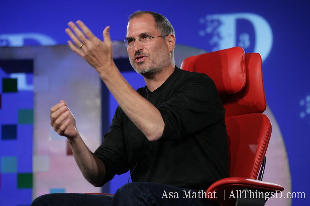 Steve Jobs at D3.