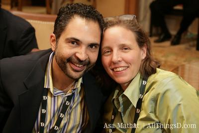 James Joaquin and Megan Smith.