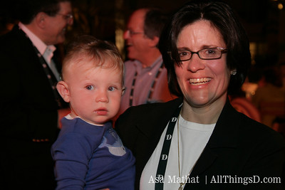 Alex Swisher and mommy blogger Kara.