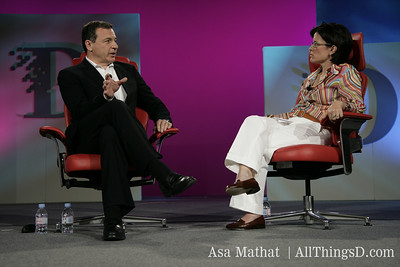 Disney President and CEO Robert Iger is interviewed by Kara Swisher at D4.