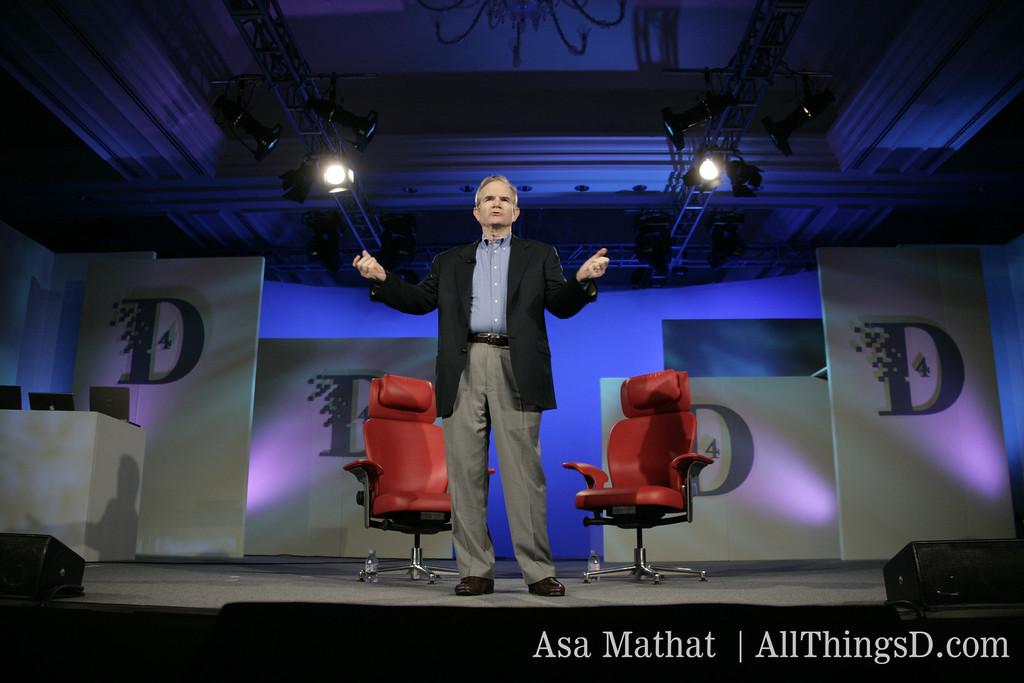 Paul Steiger of The Wall Street Journal kicks off D4 in 2006.