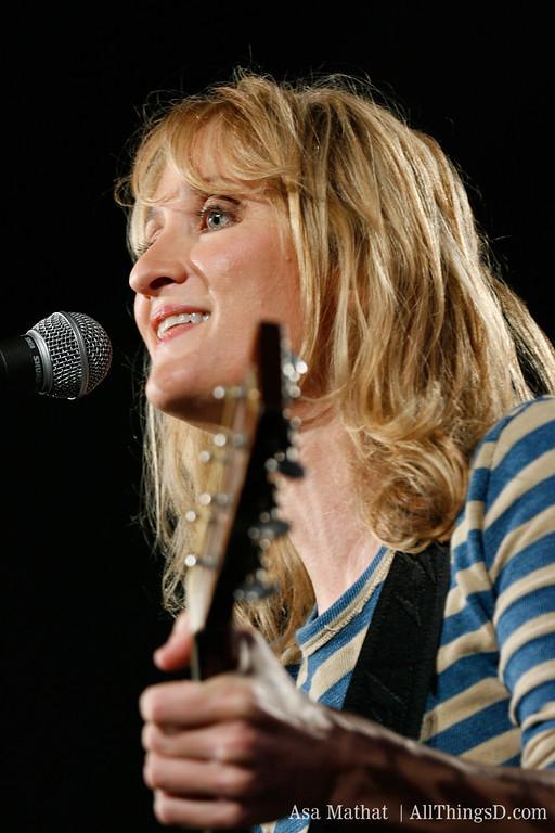 Singer-songwriter Jill Sobule.