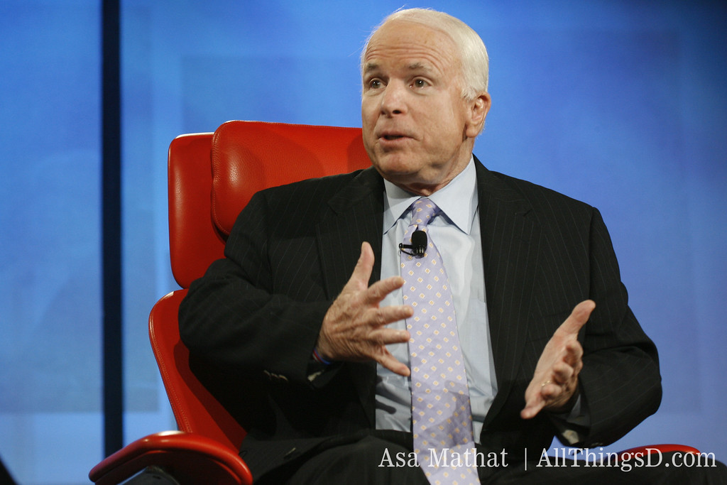 """Senator John McCain: """"We need to reform our copyright laws, but it needs to be carefully thought through."""""""