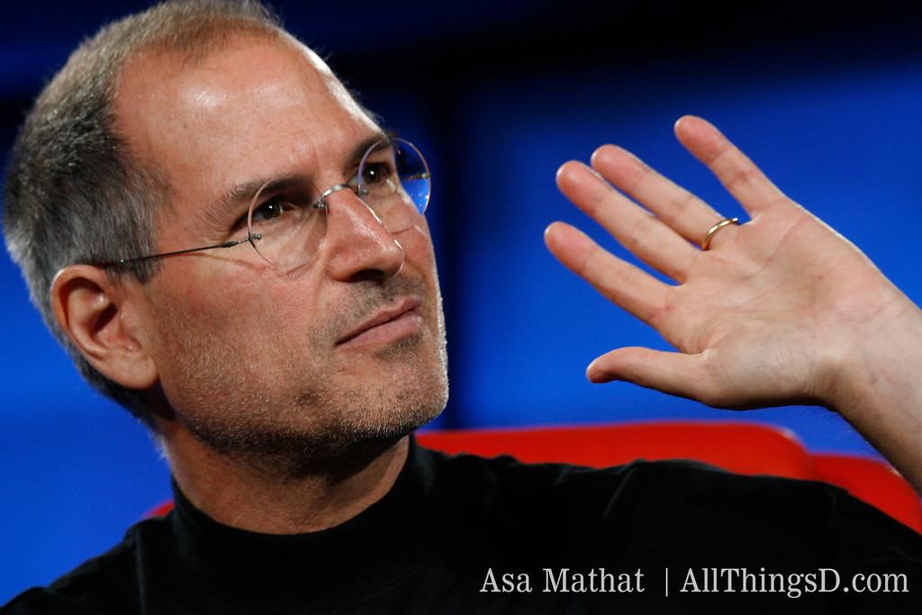 Steve Jobs at D5.