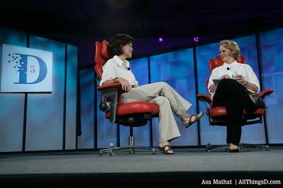 Kara interviews Ann Moore at D5