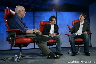 Walt Mossberg interviews Chad Hurley and Steve Chen of YouTube