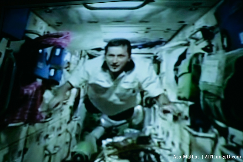 Charles Simonyi in space