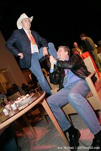 Ride 'em cowboys! Barry Sonnenfeld and Stewart Alsop