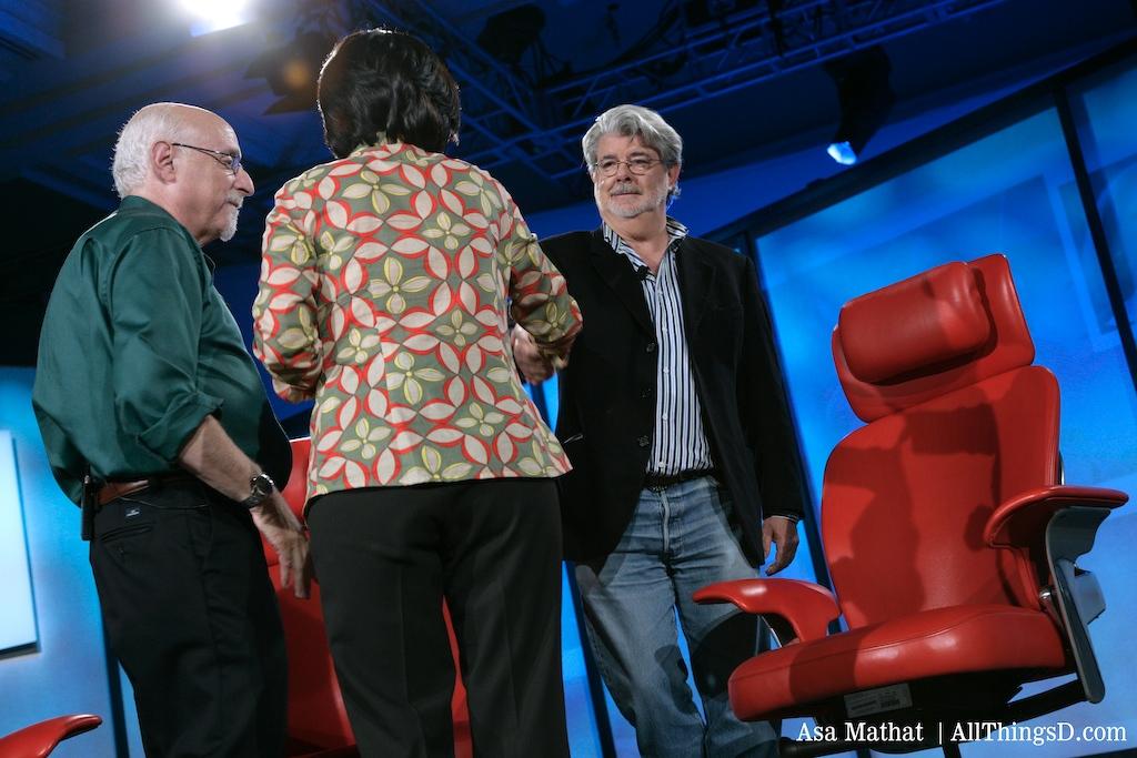 Walt and Kara interview George Lucas at D5