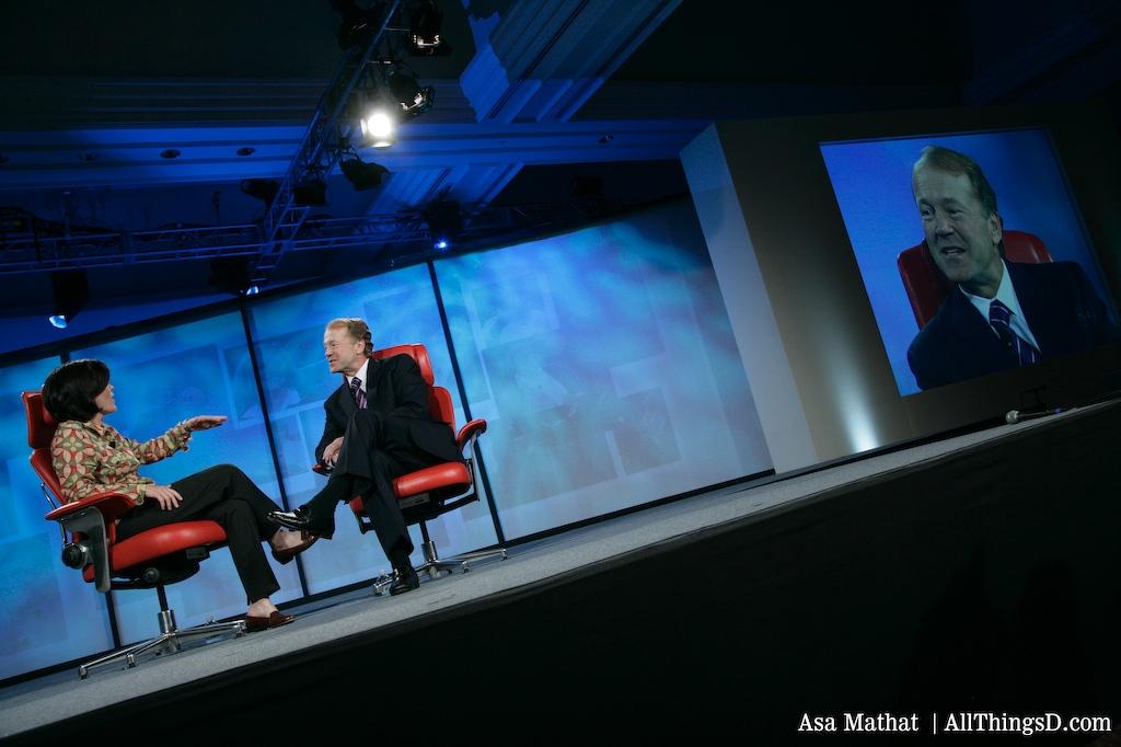 Kara Swisher chats with Cisco CEO John Chambers at D5