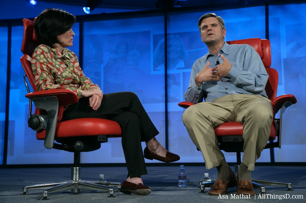 Steve Case and Kara Swisher at D5