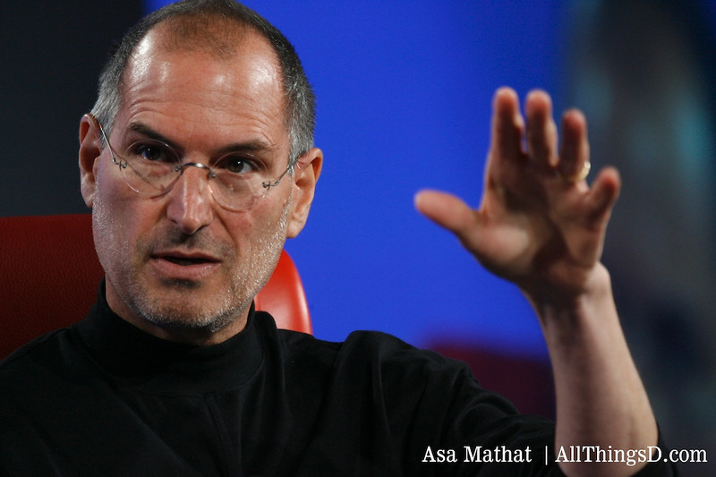 Steve Jobs, CEO, Apple, at D5.