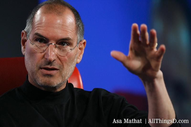Steve Jobs, CEO, Apple, at D5.