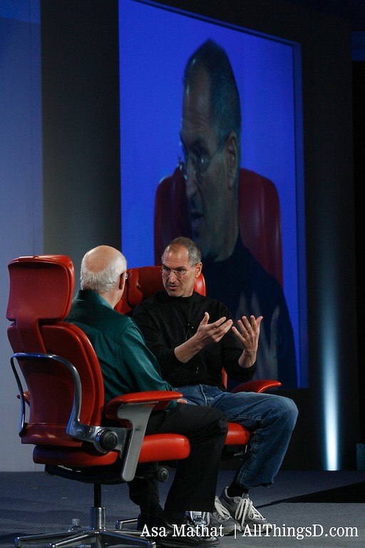 Walt interviews Steve Jobs at D5