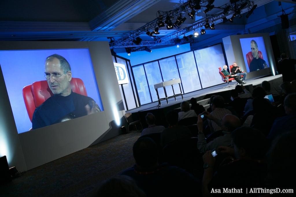 Steve Jobs at D5