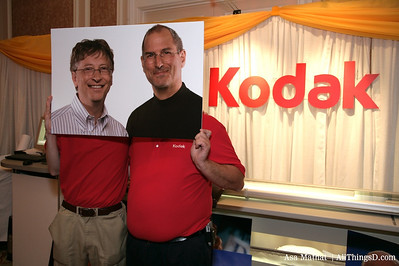 Kodak Moment - Bill Gates and Steve Jobs