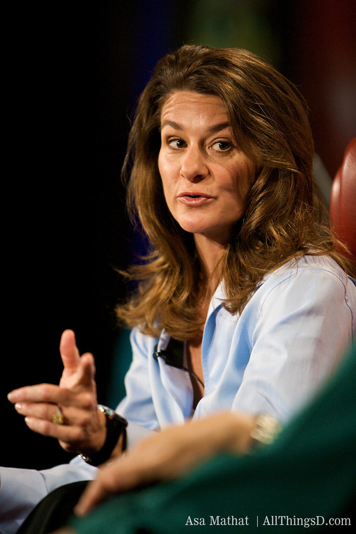 """""""All lives are equal."""" Melinda Gates, Co-chair of the Bill & Melinda Gates Foundation."""