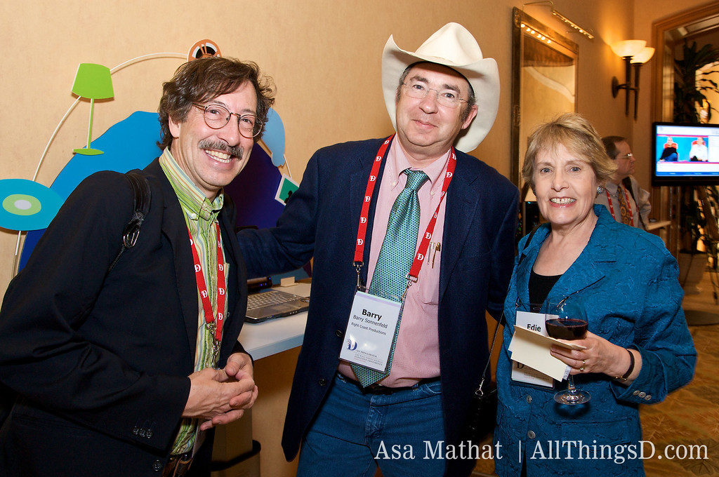 Rick Smolan, Barry Sonnenfeld and Edie Mossberg.