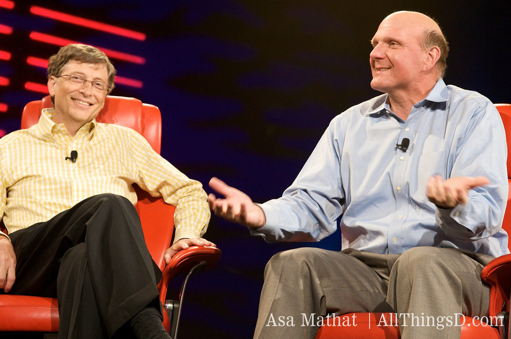 """Steve Ballmer recalls his early days at Procter and Gamble, working on a product called the """"Coldsnap Freezer Dessert Maker."""" D6 conference, 2008."""