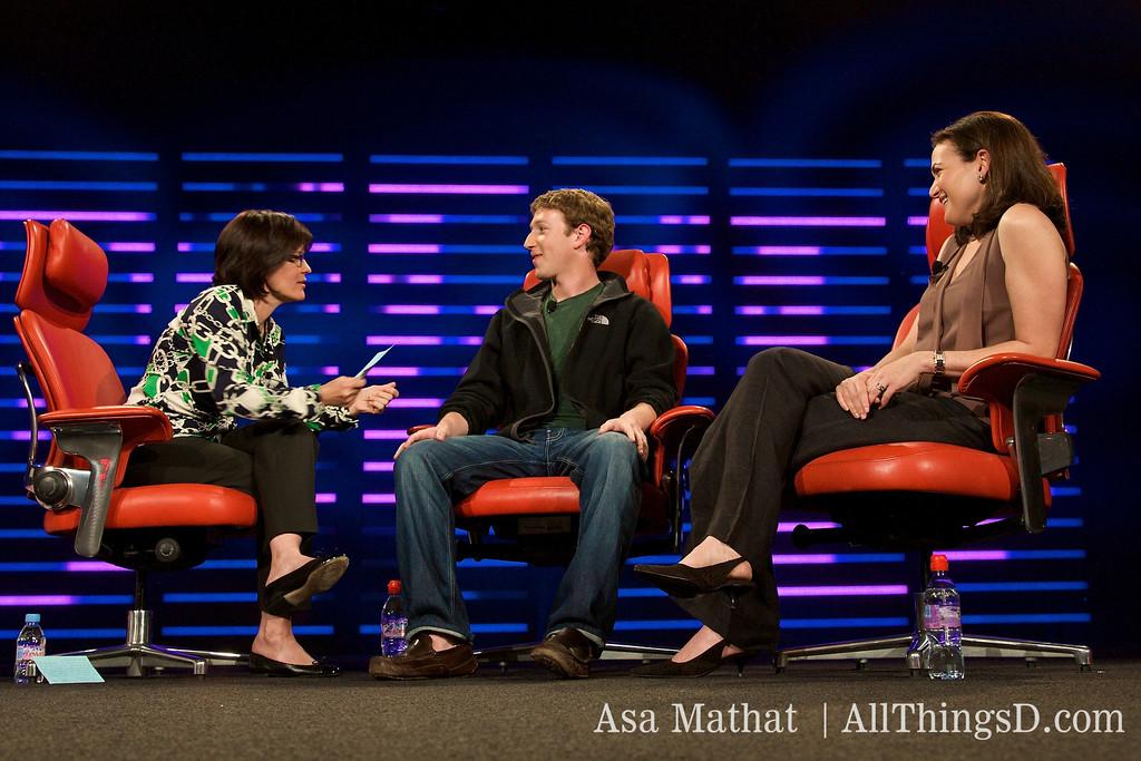 Zuckerberg in the hotseat: Kara Swisher interview at D5.