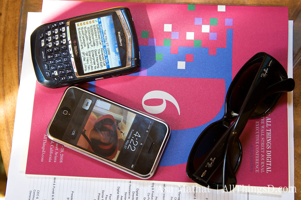 Got iPhone. Got Blackberry. Go D6 Program Book. I'm set!
