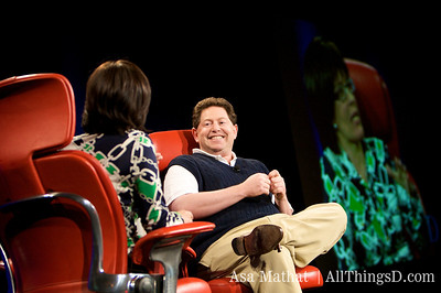 Kara Swisher interviews Robert Kotick, CEO of Activision, and gets a sneak preview of Guitar Hero IV.