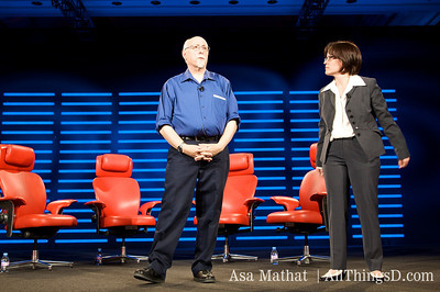 Walt Mossberg and Kara Swisher