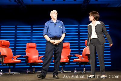 Walt Mossberg and Kara Swisher