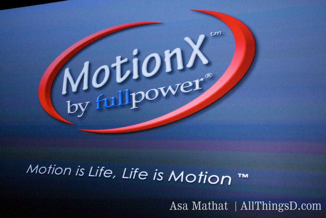 Fullpower's new technology: MotionX.