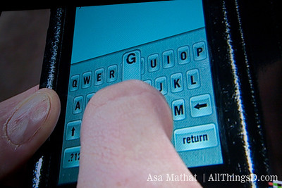 TouchSense tries to emulate the feel of a mechanical keyboard.