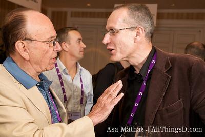 Rupert Murdoch and Robert Thomson.