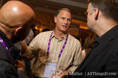 Dan'l Lewin talks with guests at D7.