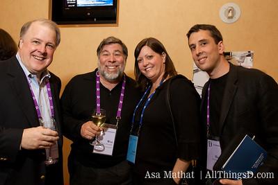 Steve Wozniak and D7 attendees.