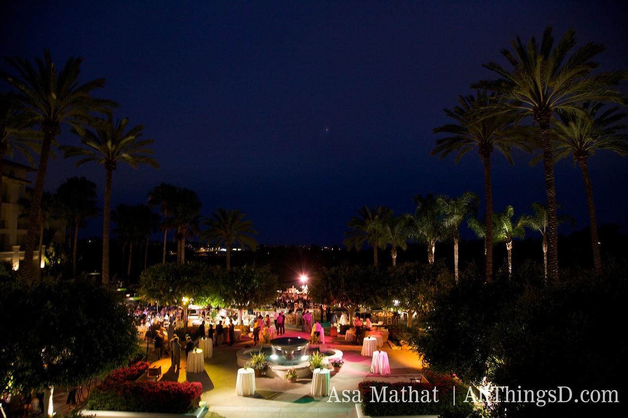 It was a beautiful night in Carlsbad, California.