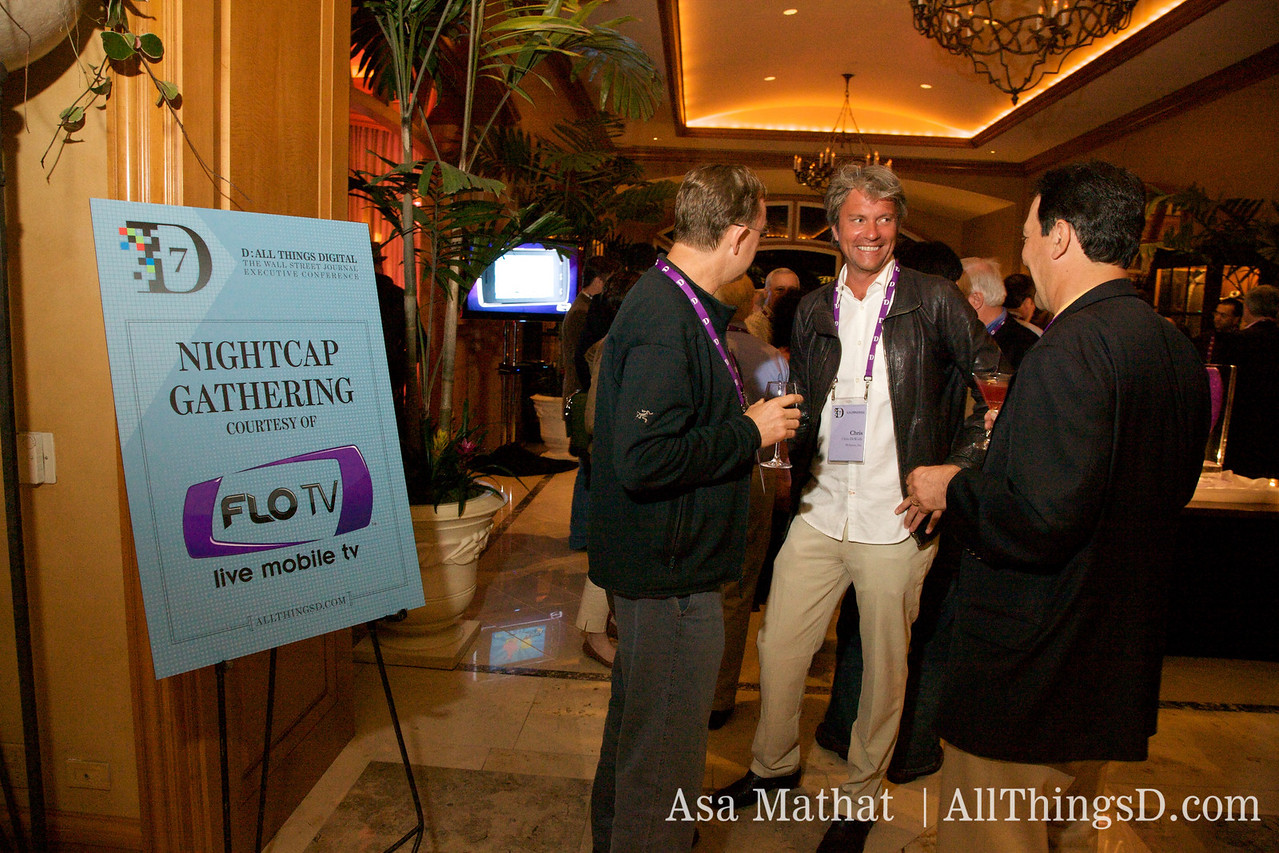 The Nightcap Gathering was sponsored by Flo TV.