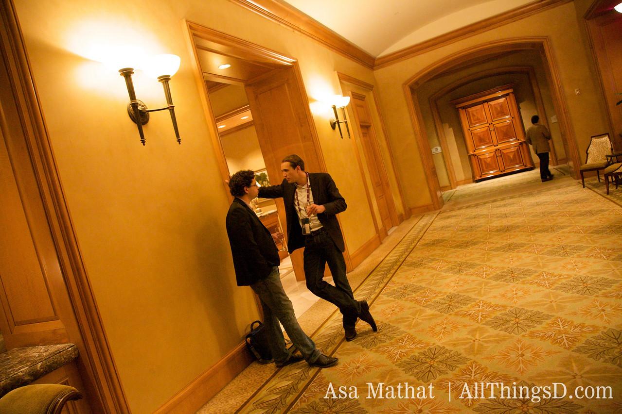 Conversations in the hallways of D7.