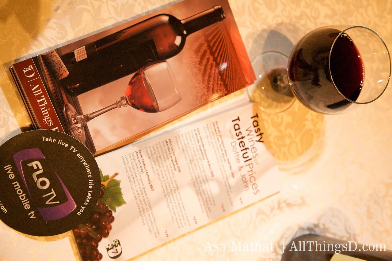 Tasty wines at tasteful prices.