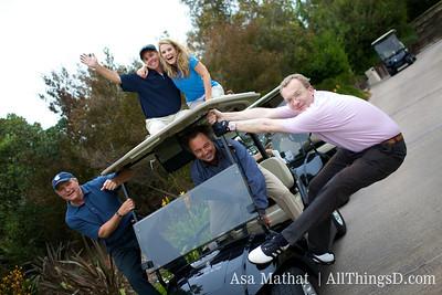 Golf cart shenanigans.
