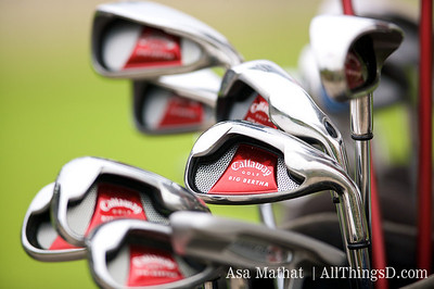 A fine set of Callaway clubs.
