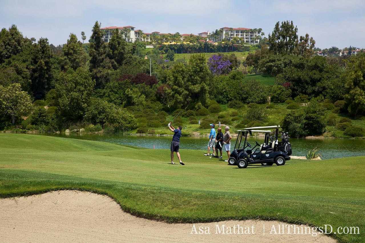 D7 golf tournament at the stellar Four Seasons Aviara course.